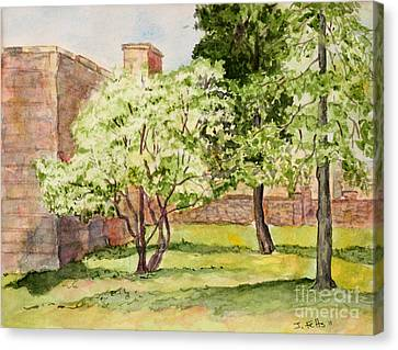 The University Of The South Campus Canvas Print by Janet Felts