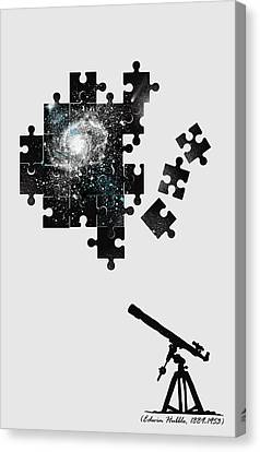 The Unsolved Mystery Canvas Print by Neelanjana  Bandyopadhyay