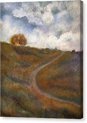 The Uphill Road Canvas Print