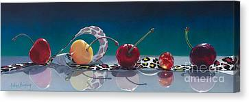 The Usual Suspects Canvas Print by Arlene Steinberg