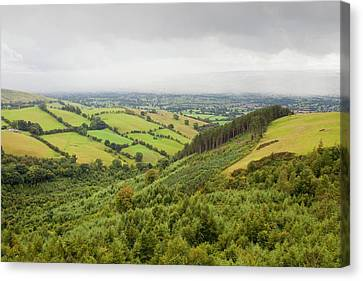 The Vale Of Clwyd Canvas Print by Ashley Cooper