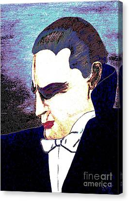 The Vampire Canvas Print by Alys Caviness-Gober