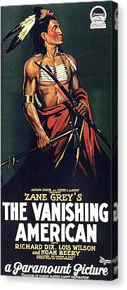 The Vanishing American Canvas Print by Movie Poster Prints
