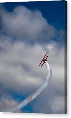 The Vapor Trail Canvas Print
