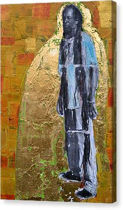 Caribbean Canvas Print - The Veggie Man by Megan  Dorien
