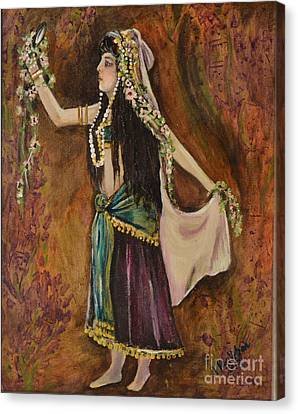 The Veil Canvas Print by Valarie Pacheco
