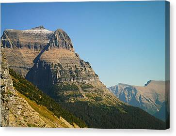 The Very First Snow In Montana In September Canvas Print by Jeff Swan