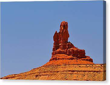 The Vibe Of Valley Of The Gods Utah Canvas Print by Christine Till