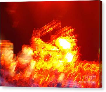Canvas Print featuring the photograph The Vibe by Paul Foutz