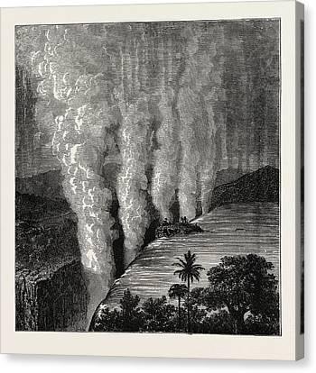 The Victoria Falls Of The Zambesi Canvas Print