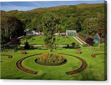 The Victorian Walled Garden, Kylemore Canvas Print