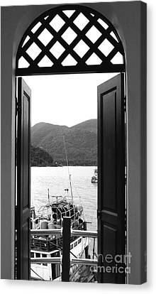 The View Canvas Print by Andrea Anderegg