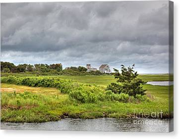 The View From The Bridge Canvas Print by Michelle Wiarda