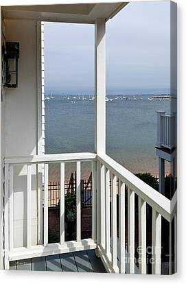 The View From The Porch Canvas Print