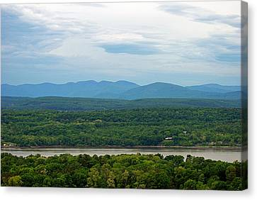 The View From The Tower Canvas Print