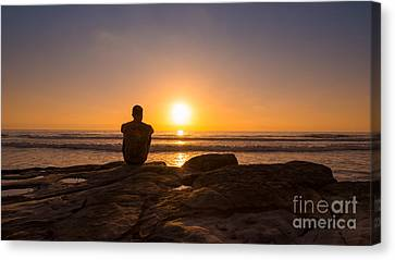 The View Wide Crop Canvas Print by Michael Ver Sprill