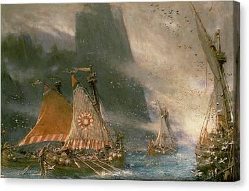 The Viking Sea Raiders Canvas Print