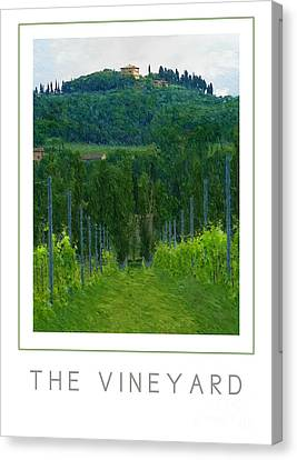 The Vineyard Poster Canvas Print by Mike Nellums