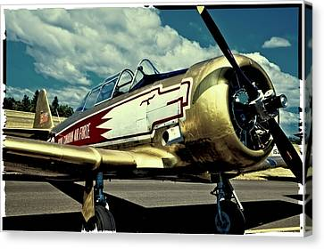 The Vintage North American T-6 Texan Canvas Print