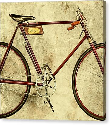 The Vintage Racing Bike Canvas Print by Martin Bergsma