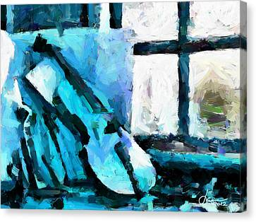 The Violin Tnm Canvas Print by Vincent DiNovici