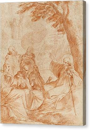 The Vision Of St. Romauld Canvas Print