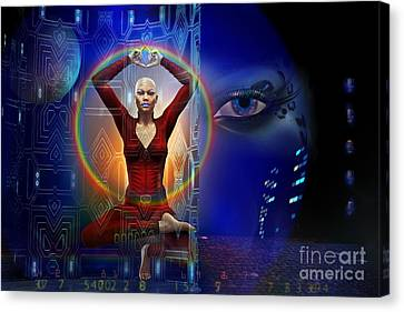The Vision Canvas Print by Shadowlea Is