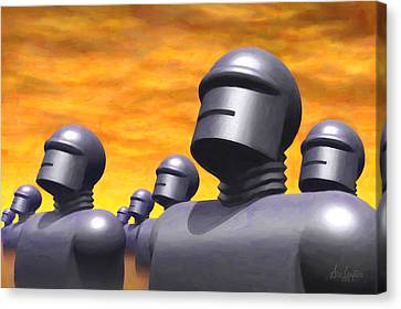 The Voice Canvas Print by Ace Layton