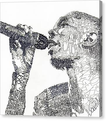 Maxi Jazz Canvas Print by Michael Volpicelli