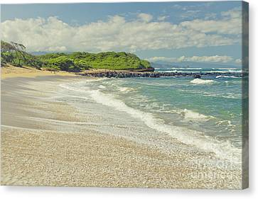 The Voice Of The Sea Canvas Print by Sharon Mau