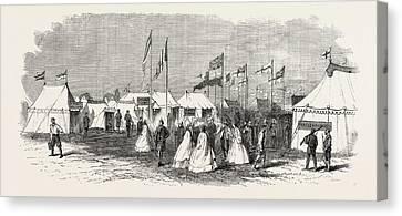 The Volunteer Camp Wimbledon Windmill Street Canvas Print
