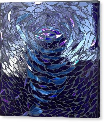 The Vortex Canvas Print by Alison Edwards