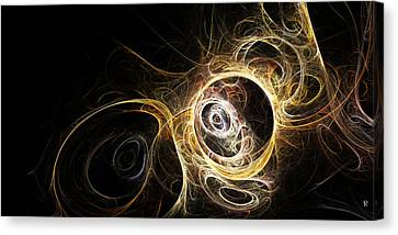 The Vortex Being Canvas Print by Richard Pennells