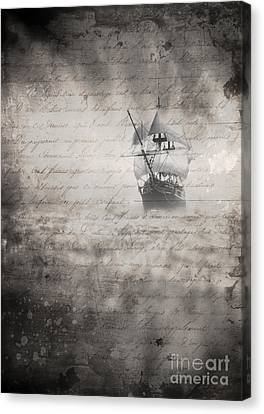 The Voyage Canvas Print by Edward Fielding