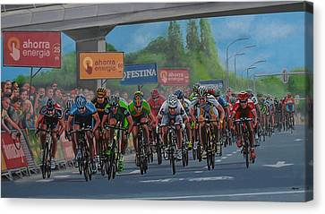 The Vuelta Canvas Print by Paul Meijering