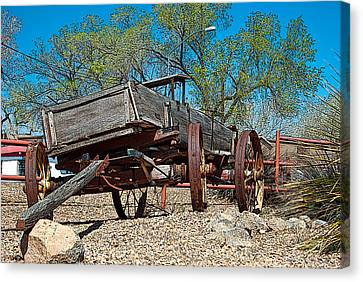 The Wagon Canvas Print by Don Durante Jr