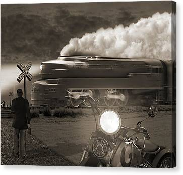 The Wait 2 Canvas Print by Mike McGlothlen