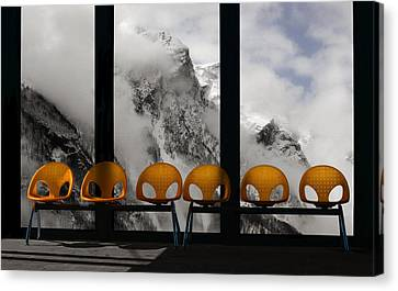 The Waiting Room Of Paradise Canvas Print