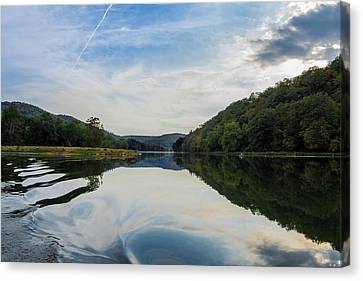 The Wake Canvas Print