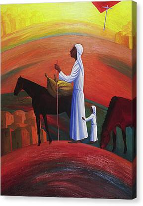 The Wandering Mary Magdalene Canvas Print