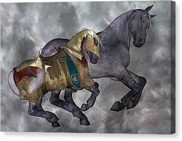 The War Horse Canvas Print by Betsy Knapp