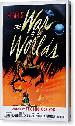 The War Of The Worlds Canvas Print by Georgia Fowler