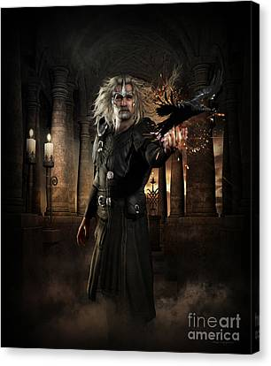 The Warlock Canvas Print