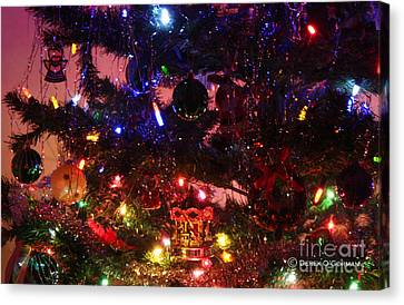 The Warmth Of Christmas Canvas Print