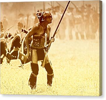 The Warrior Canvas Print by Jim Cook