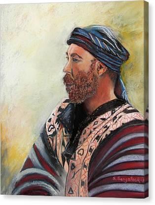 The Watcher Canvas Print by Sandra Sengstock-Miller