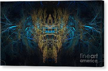 The Watcher Canvas Print by Tim Gainey