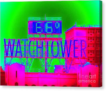 The Watchtower Canvas Print by Ed Weidman