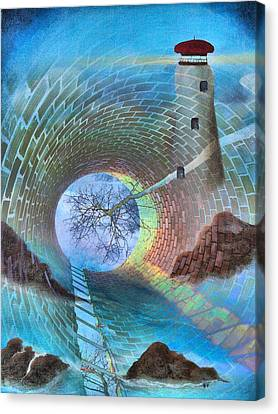 The Watchtower Canvas Print by Tom Druin