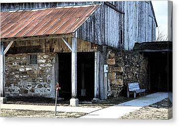 The Water Pump Canvas Print by Kirt Tisdale